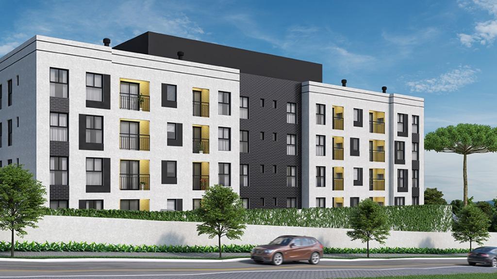 Apartamento com 2 dormitórios à venda, 49 m² por R$ 163.900