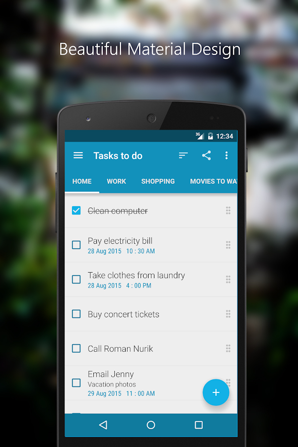 Tasks To Do : To-Do List Screenshot