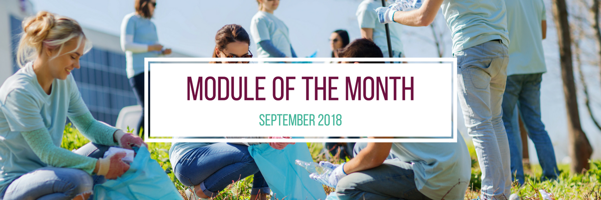 Module of the Month – September