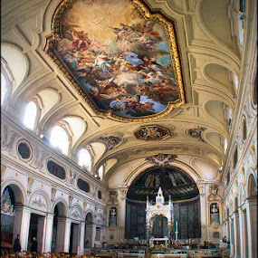 Rome by Bram de Mooij - Buildings & Architecture Places of Worship ( church, rome, chairs )