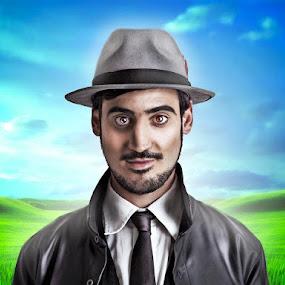 inspector gadjet by Hafiz Othman - People Portraits of Men ( potrait, malay, man )