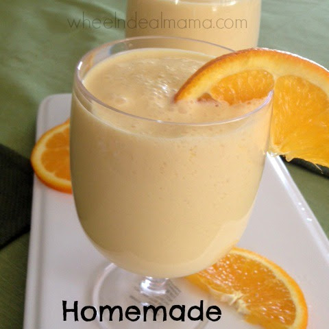 Homemade Orange Julius {Copycat Recipe}