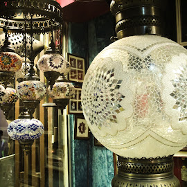 lamp shade by Debangshu Das - Artistic Objects Other Objects ( lights, glass art )