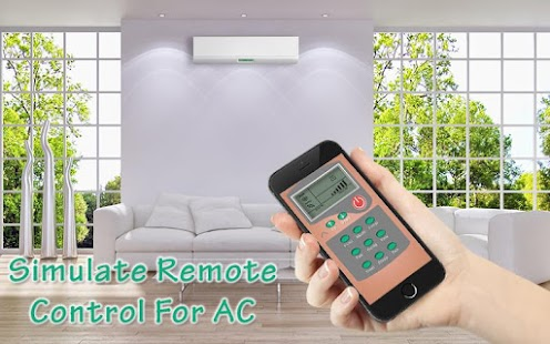 AC Remote Control Simulator - screenshot