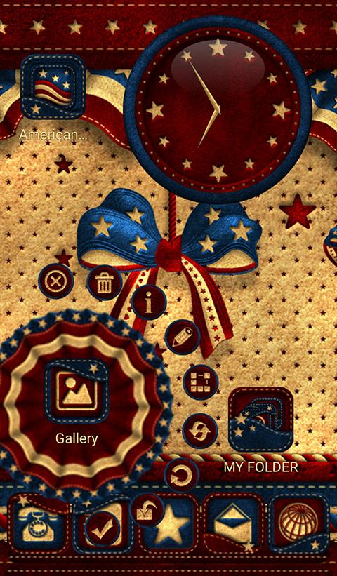TSF NEXT AMERICAN THEME 4 JULY Screenshot 1