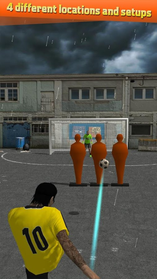 Street Soccer Flick Pro Screenshot 3