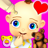 Free Download My Baby: Baby Girl Babsy APK for Samsung