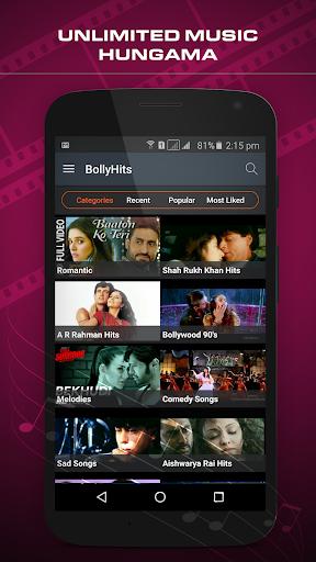 BollyHits:Bollywood Hindi Video Songs &Trailers HD