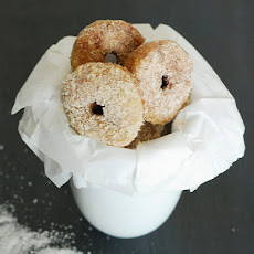 "Cinnamon ""Sugar"" Mini Doughnuts - Low Carb"