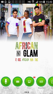 African Glam - screenshot