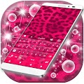 Pink Cheetah Keyboard Theme APK Descargar