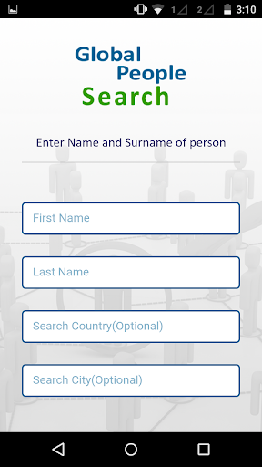 Global People Search - screenshot