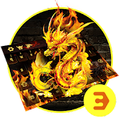 App Cool Fire Dragon fire Keyboard 10001002 APK for iPhone