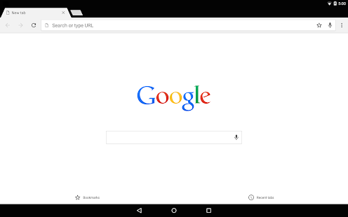 Navigateur Google Chrome Screenshot