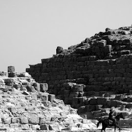by John Golden - Black & White Objects & Still Life ( pyramids, travel, egypt )
