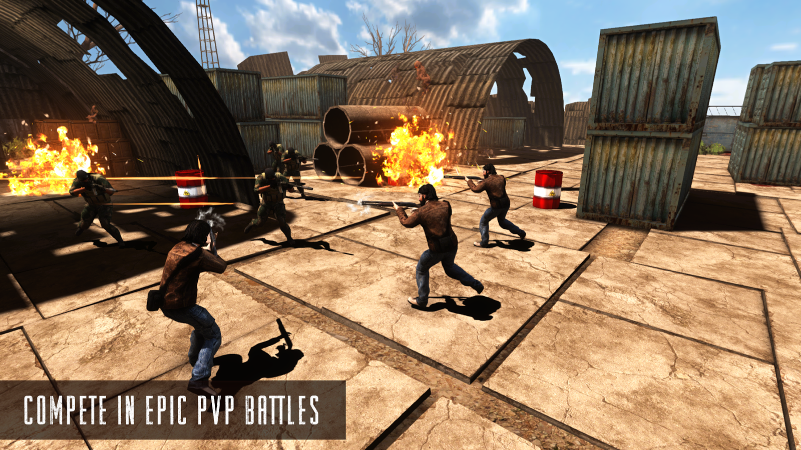 Rage Z: Multiplayer Zombie FPS Screenshot 2