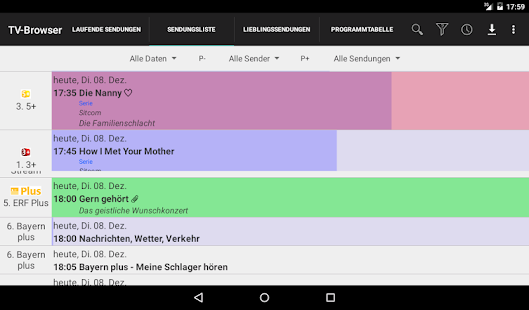 TV-Browser - TV Programm Screenshot