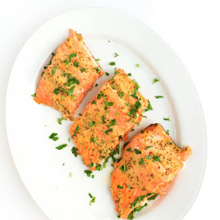 5-Ingredient Honey Mustard Salmon