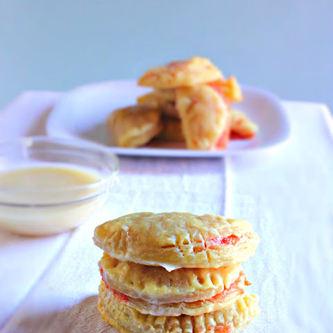 Mini Pineapple Upside Down Cake Turnovers