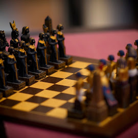 Game of Thrones by Juanito Bumactao - Artistic Objects Antiques ( kingdoms, throne, kings and queens, chess, game, object )