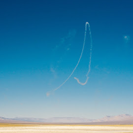 Untitled by Jason Schneider - Landscapes Deserts ( death valley, armed forces, desert, desolate, millitary, navy )