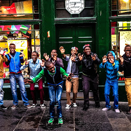 Edfringe by Andy Stephenson - People Musicians & Entertainers ( musicians, happy, people, graceland, colours,  )