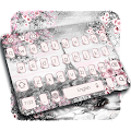 Pink Rose Paris Keyboard