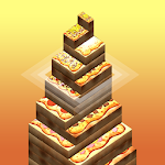 Pizza Stack Tower Icon