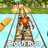 Crash Jungle Run Dash 3D Subway
