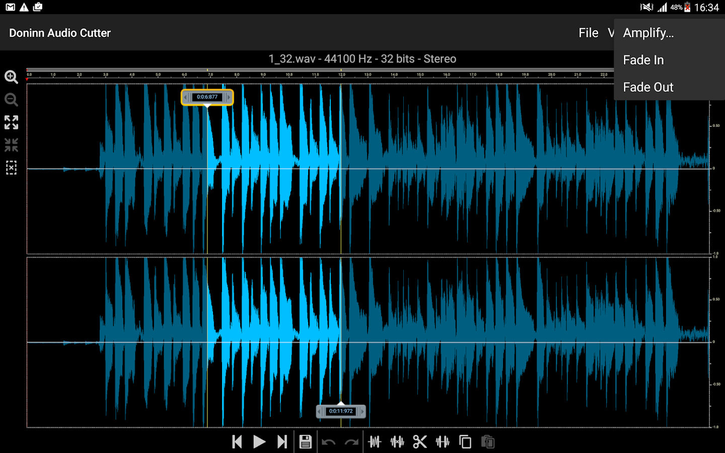 Doninn Audio Cutter Screenshot 11