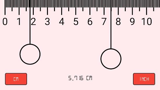 Mesure transformez votre smartphone en r gle android - Regle pour mesurer ...