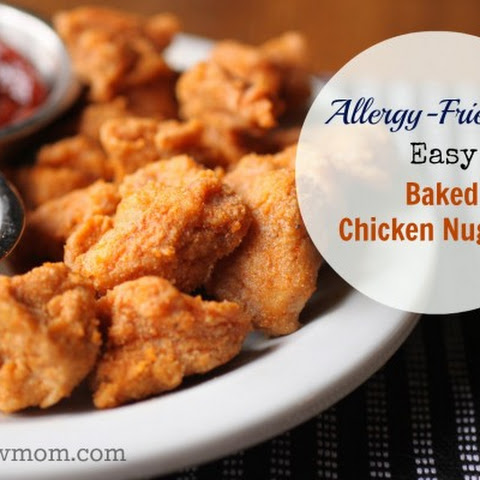 Easy Baked Chicken Nuggets (dairy and egg free w gluten free option)