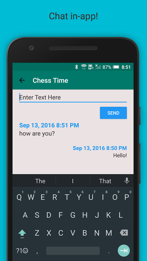 Chess Time® Pro - Multiplayer Screenshot 2