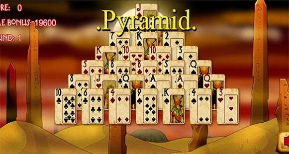 Guide for Pyramid Solitaire - screenshot