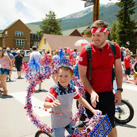 Bike Parade Dillon Colorado 4th week by Kellie Jones - Public Holidays July 4th (  )