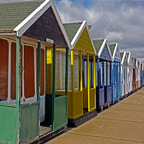 Southwold beach huts 05 by Michael Moore - Buildings & Architecture Other Exteriors (  )