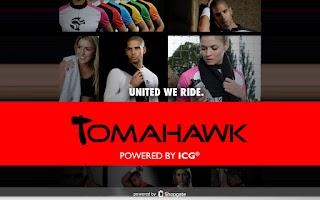 Screenshot of TOMAHAWK® Shop