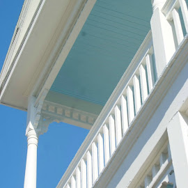 Second story by Brenda Shoemake - Buildings & Architecture Architectural Detail
