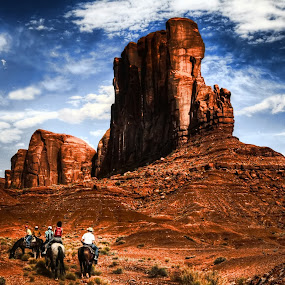 monument valley by Marco Caciolli - Landscapes Travel