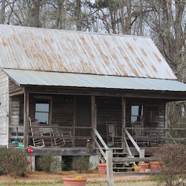 Grandpas older home place . by Terry Linton - Buildings & Architecture Homes