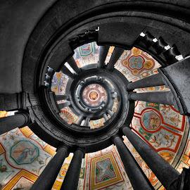 Palazzo Farnese - La Scala by Tonino De Rubeis - Buildings & Architecture Public & Historical