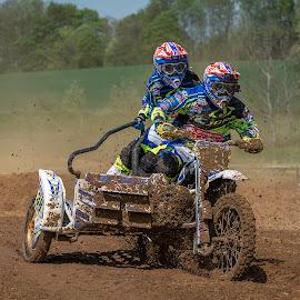 Sidecar cross by Nick Vanderperre - Sports & Fitness Motorsports ( de korrel nog, 2018, bertem, website, motorcross )