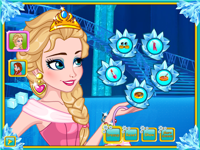 Elsa Costume Party - screenshot