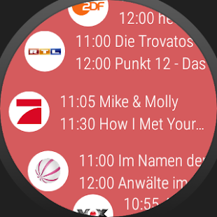 TV Programm & Fernsehprogramm ON AIR Screenshot
