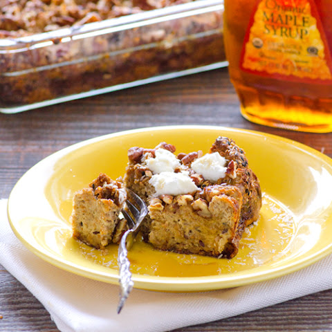 Sprouted French Toast Breakfast Casserole