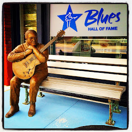 Blues Hall of Fame in Memphis, Tennessee by Mary Phelps - Instagram & Mobile iPhone ( south main, memphis, tennessee, blues, downtown )