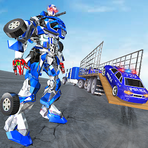 US Police Robot Transport Truck Driving Games For PC (Windows & MAC)