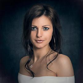 Ramona by Jozef Kiss - People Portraits of Women ( girl, beuty, ramona, beautiful, jozefkiss, young, portrait )
