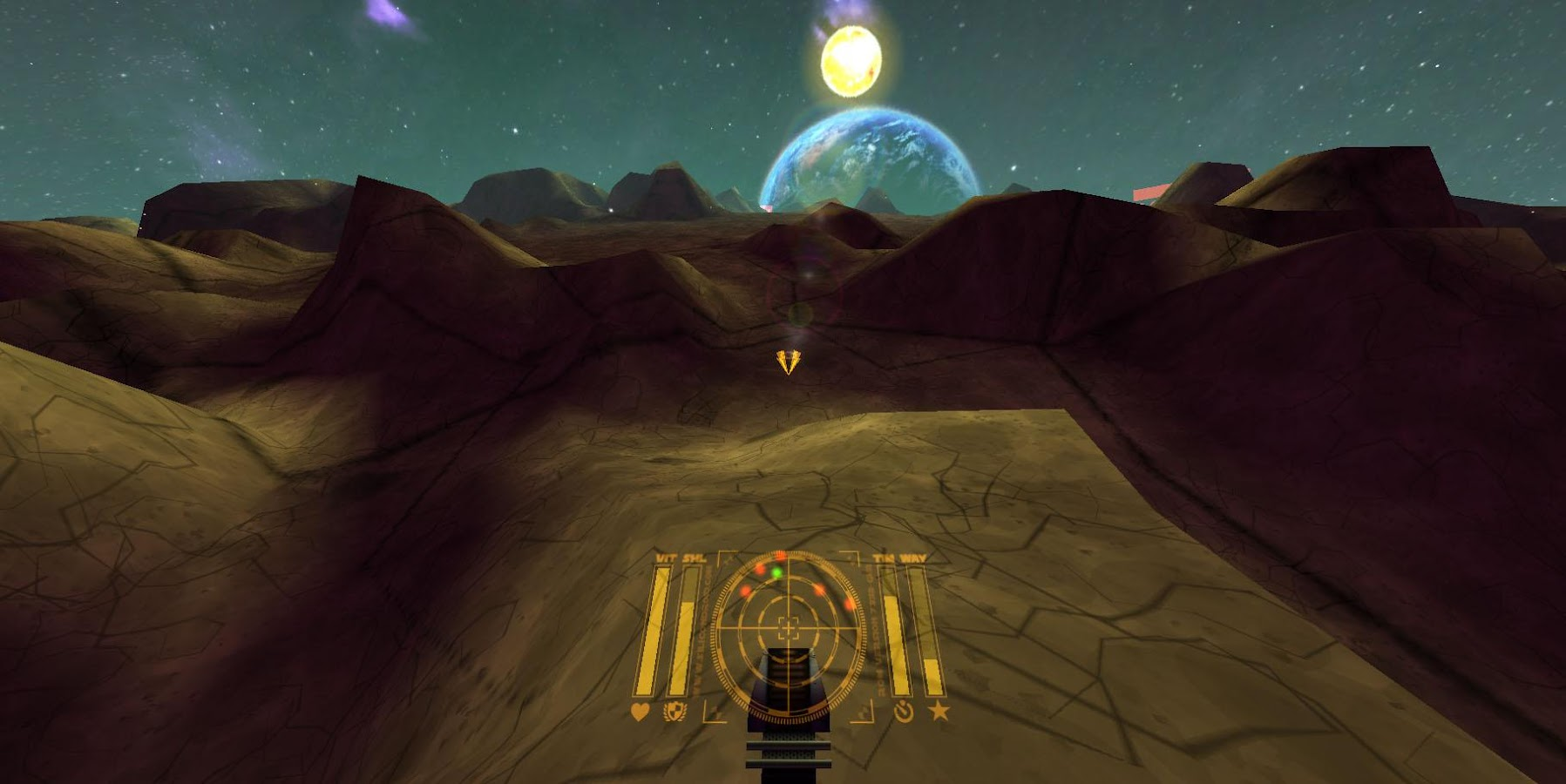 Galaxy VR Virtual Reality Game Screenshot 4