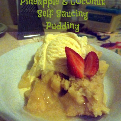 Slow Cooker Pineapple & Coconut Self Saucing Pudding